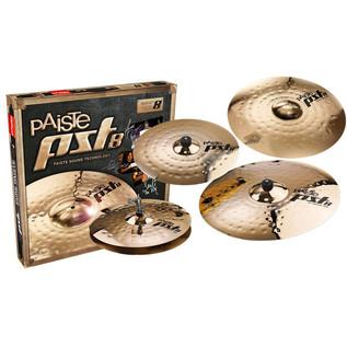 Paiste PST 8 Universal Cymbal Set + Extra 18'' Medium Crash Cymbal
