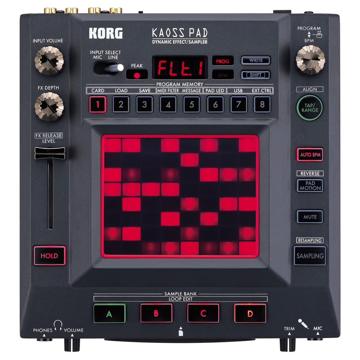 Korg Kaoss Pad KP3+ Dynamic Effects/Sampler at Gear4music.com