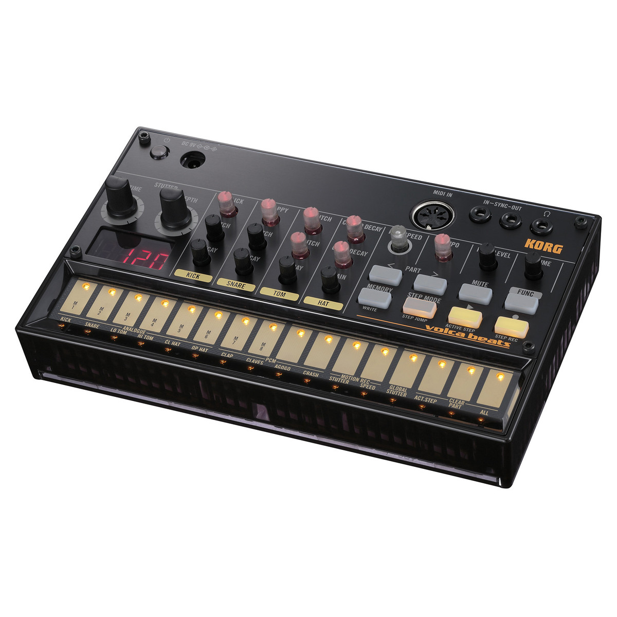 Image of Korg Volca Beats Analog Rhythm Machine