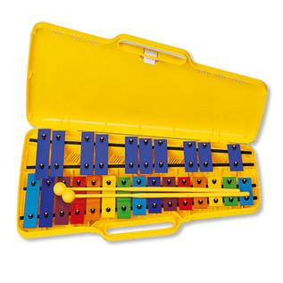Angel AX-25N3 G4-G6 25 Note Glockenspiel, Coloured Keys