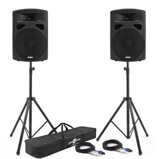1200W 15 inch PA Passive Speaker Bundle
