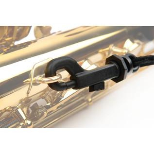 Rico Fabric Saxophone Strap, Plastic Snap Hook