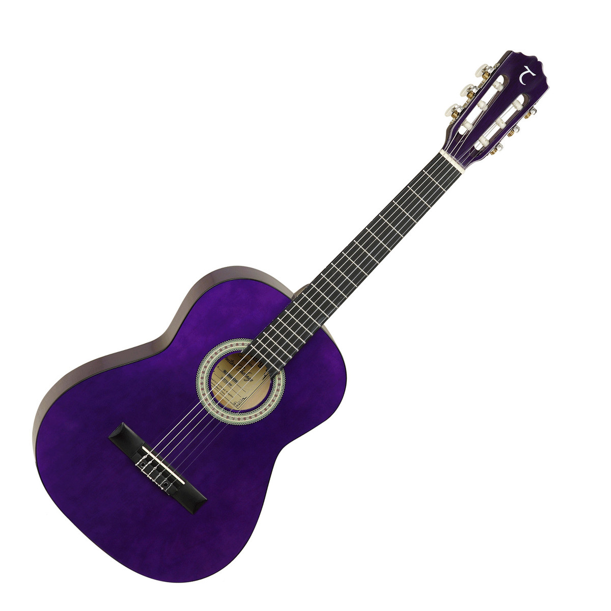 Tanglewood 3/4 Classical Acoustic Guitar, Trans Purple at ...
