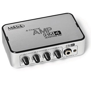 Miktek HM4 4 Channel Headphone Amplifier