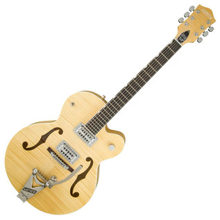 Gretsch G6120SH Brian Setzer Hot Rod, Blonde/Flame Maple