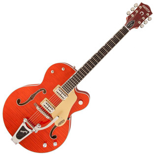 Gretsch G6120SSU Brian Setzer Nashville, 3-Ply Maple, Gloss Black