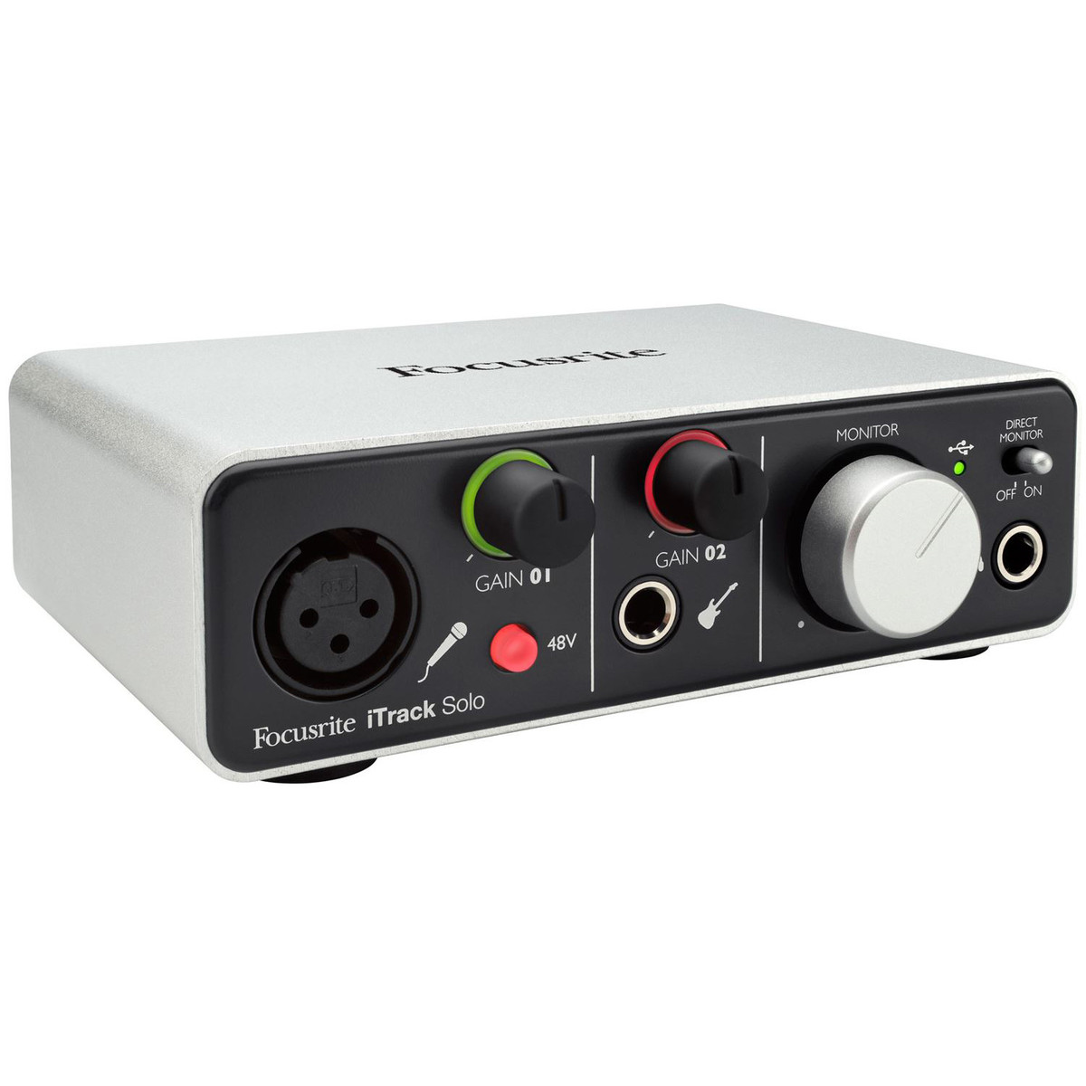 Image of Focusrite iTrack Solo Lightning-Compatible Audio Interface