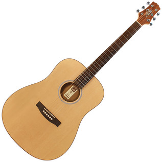 Ashton D20 Dreadnought Acoustic Guitar, Natural Matte
