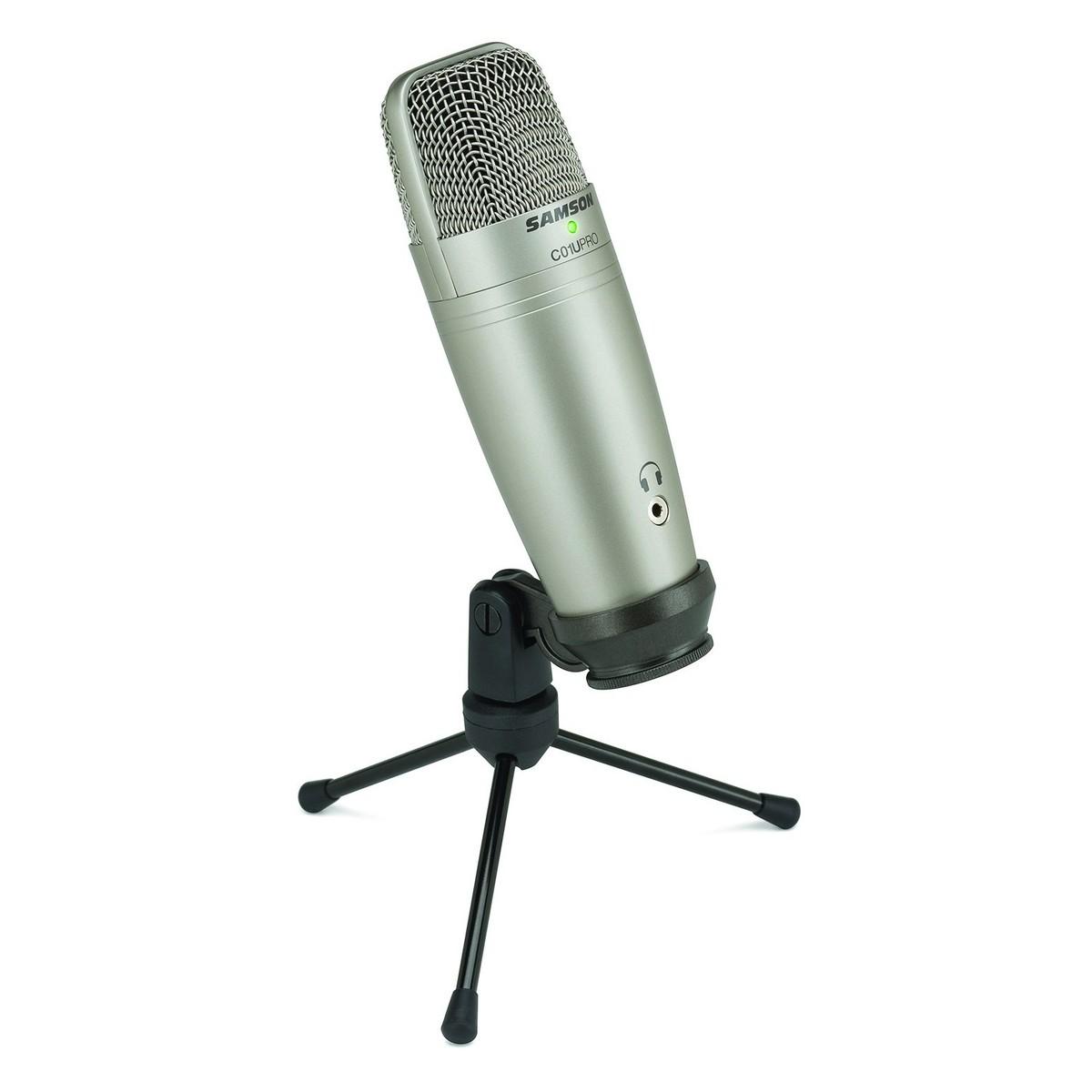 samson c01u pro usb studio condenser microphone at. Black Bedroom Furniture Sets. Home Design Ideas