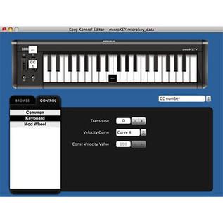 Korg microKEY 61 Key USB MIDI Keyboard 4