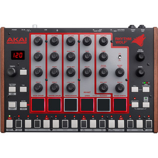 Akai Rhythm Wolf Analog Synth and Drum Machine 2