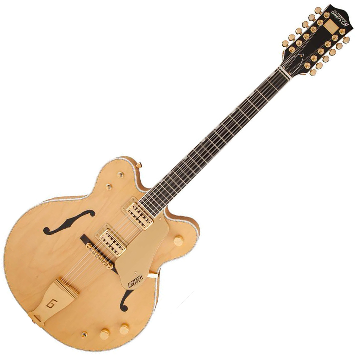 gretsch g6122 12 chet atkins country gentleman 12 string amber stain at. Black Bedroom Furniture Sets. Home Design Ideas