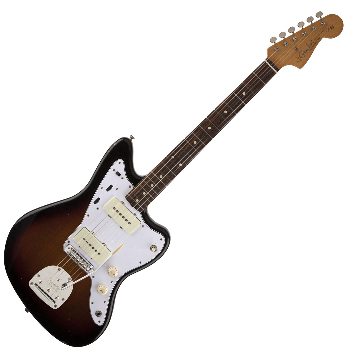 fender road worn 60s jazzmaster electric guitar 3 color sunburst at. Black Bedroom Furniture Sets. Home Design Ideas