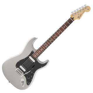 Fender Standard Stratocaster HH Electric Guitar, Ghost Silver