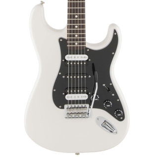 Fender Standard Strat HSH Electric Guitar, Olympic White
