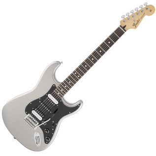 Fender Standard Strat HSH Electric Guitar, Ghost Silver