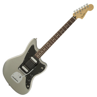 Fender Standard Jazzmaster HH Electric Guitar, Ghost Silver