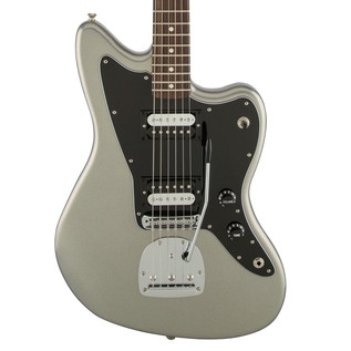 Fender Standard Jazzmaster HH Electric Guitar, Ghost Silver
