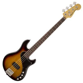 Squier by Fender Deluxe Dimensio Bass IV, 3-Color Sunburst