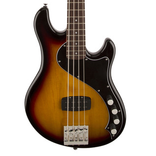 Squier by Fender Deluxe Dimensio Bass IV, 3-Color Sunburst