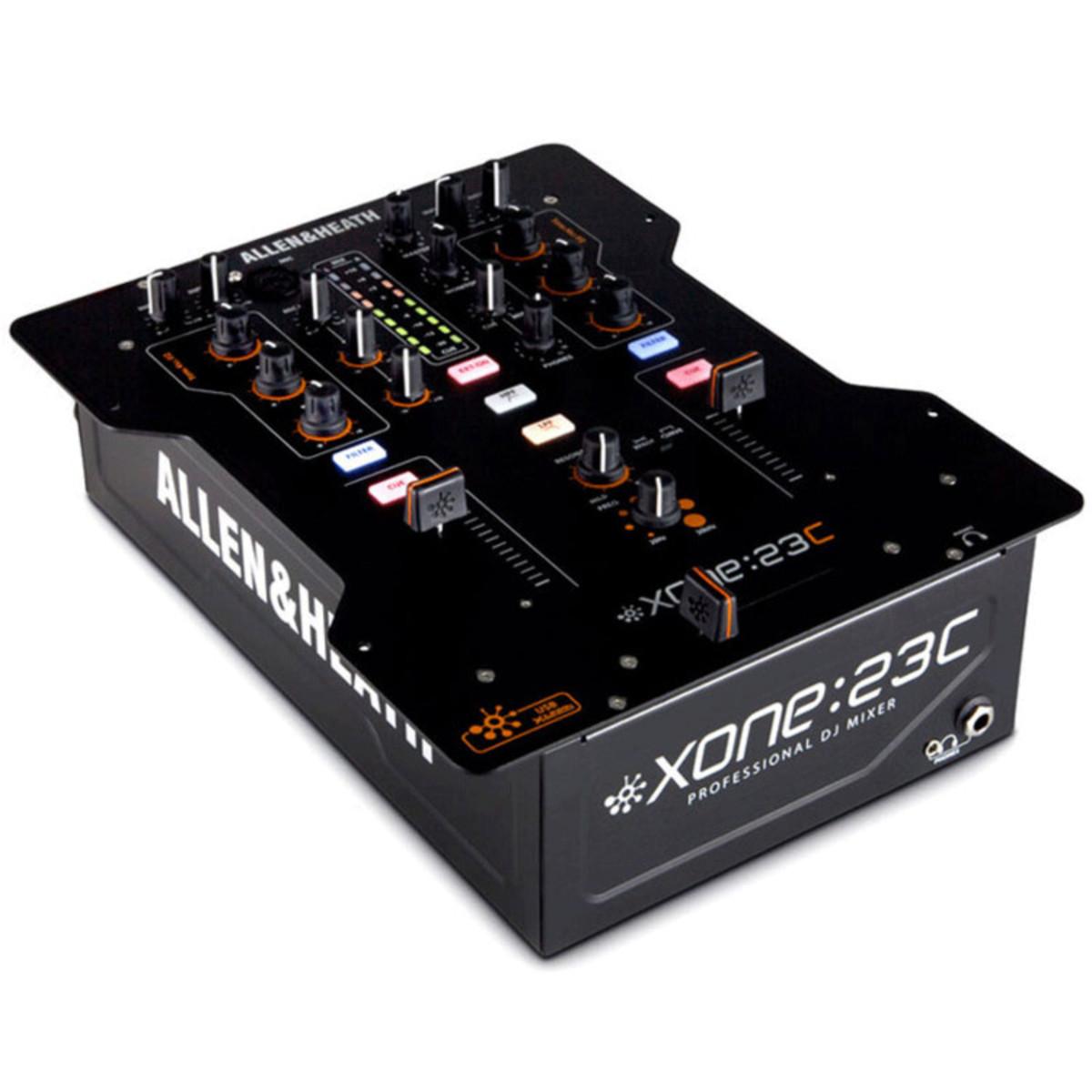 Allen et heath xone 23c table de mixage dj avec carte - Table de mixage avec carte son integree ...