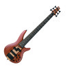 Ibanez SR756-NTF 6 String Bass Guitar, Natural Flat