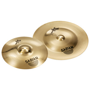 Sabian XS20 10'' Splash & 18'' China Cymbals