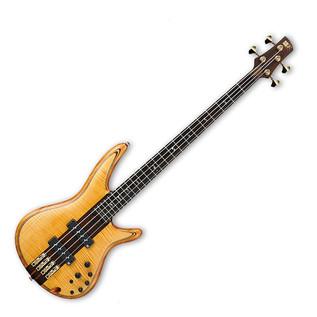 Ibanez SR1400T-VNF Premium 4 String Bass Guitar, Vintage Natural Flat