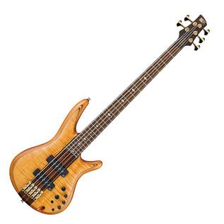 Ibanez SR1405T-VNF Premium 5 String Bass Guitar, Vintage Natural Flat