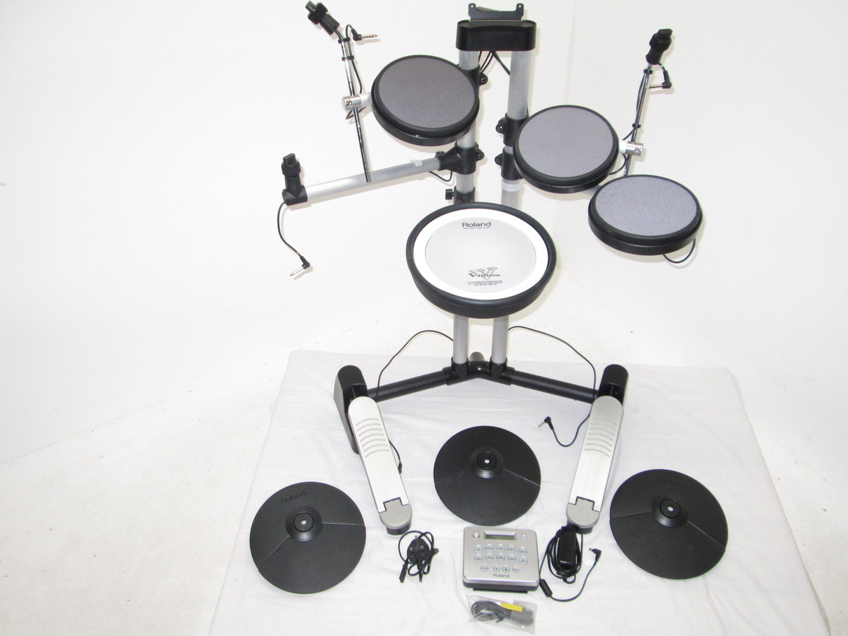 roland hd 3 v drums lite electronic drum kit nearly new at. Black Bedroom Furniture Sets. Home Design Ideas