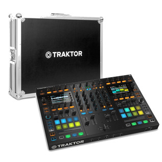 Native Instruments Traktor Kontrol S8 DJ Controller with Flightcase