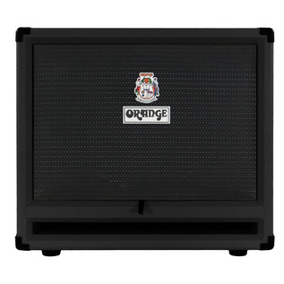 Orange OBC212 Bass Guitar Speaker Cabinet, Black