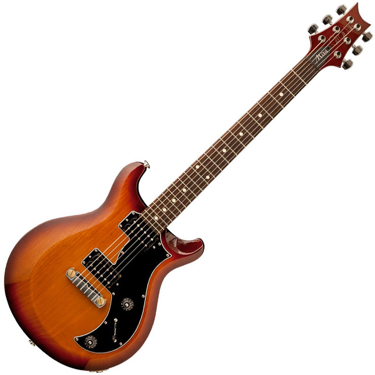 prs s2 mira electric guitar mccarty tobacco sunburst with dot inlays at. Black Bedroom Furniture Sets. Home Design Ideas