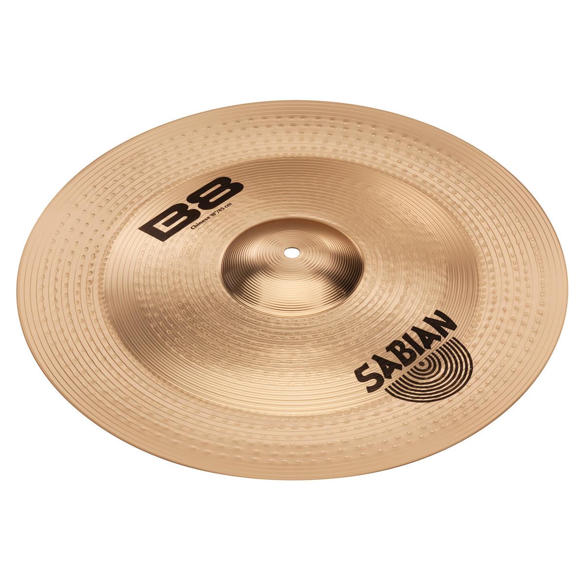 disc sabian b8 effects pack 10 39 39 splash 18 39 39 china cymbals at. Black Bedroom Furniture Sets. Home Design Ideas