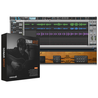Cakewalk SONAR Artist, Music Production Software