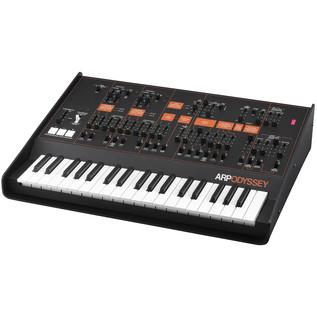 ARP Odyssey Duophonic Analog Synthesizer MK3, Black and Orange