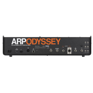 ARP Odyssey Duophonic Analog Synthesizer MK3, Black and Orange
