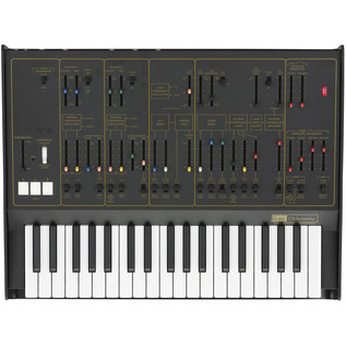 ARP Odyssey Ltd Edition Duophonic Analog Synthesizer Rev2 Black/Gold