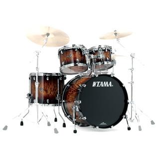 Tama Starclassic Performer 22'' 4 Pc Shell Pack, Molten Brown Burst