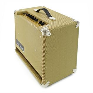 SubZero Detroit Guitar, Black and SubZero V35RG Amp Pack