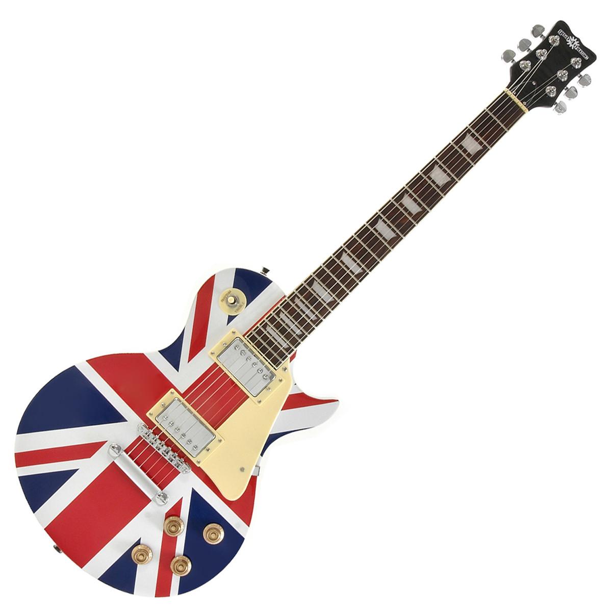 guitare lectrique new jersey par gear4music union jack comme neuf. Black Bedroom Furniture Sets. Home Design Ideas