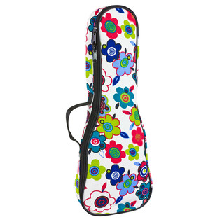 Tom and Will Soprano Ukulele Gig Bag, Flowers