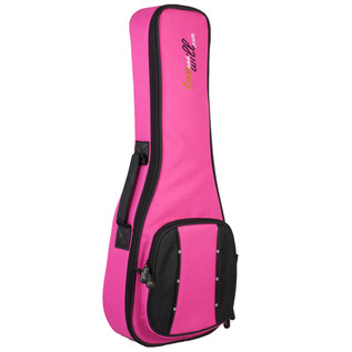 Tom and Will Deluxe Soprano Ukulele Gig Bag, Pink