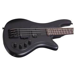 Schecter Stiletto Stealth-4 Bass Guitar, Black