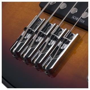 Schecter Stiletto Vintage-4 Bass, 3-Tone Sunburst