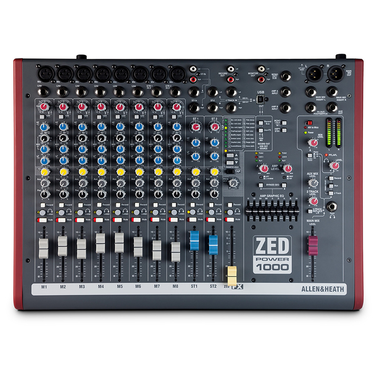 Image of Allen and Heath ZED Power 1000 Mixer