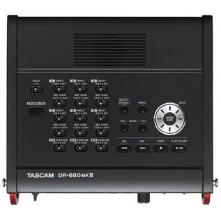 Tascam DR-680MK II, Top
