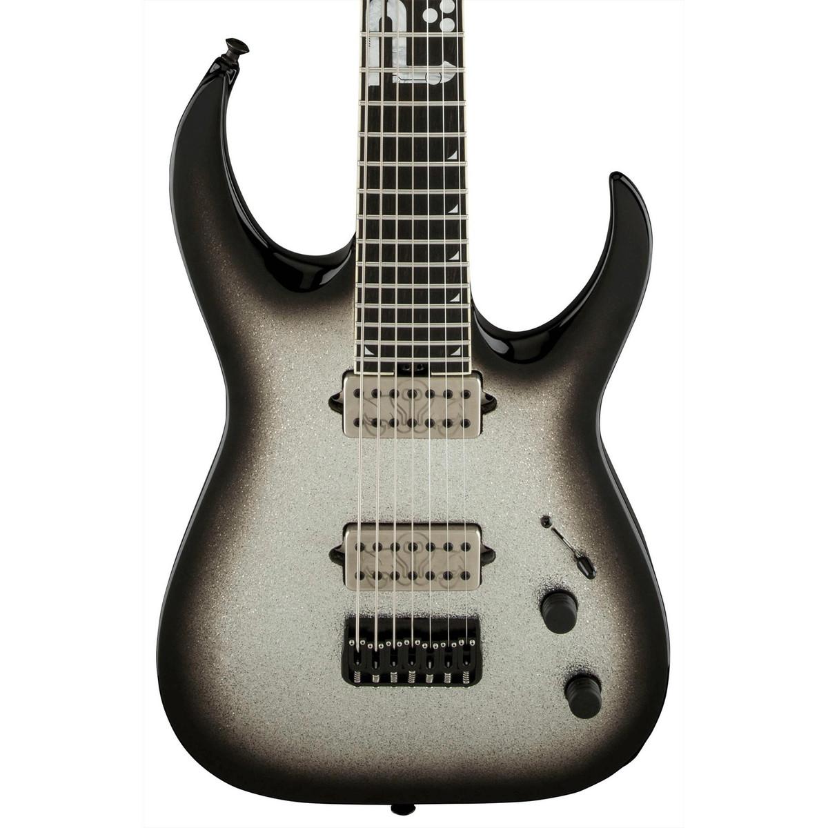 jackson misha mansoor bulb ht 7 electric guitar silver burst sparkle at. Black Bedroom Furniture Sets. Home Design Ideas