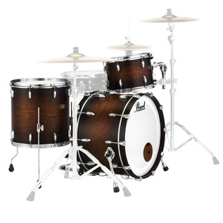 Pearl FW903XP Wood Fiberglass Ltd Ed. Shell Pack, Satin Cocoa Burst