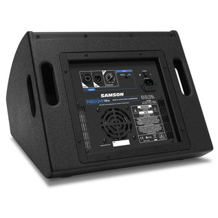 Samson RSXM12A 2-Way Active Stage Monitor, Rear Panel